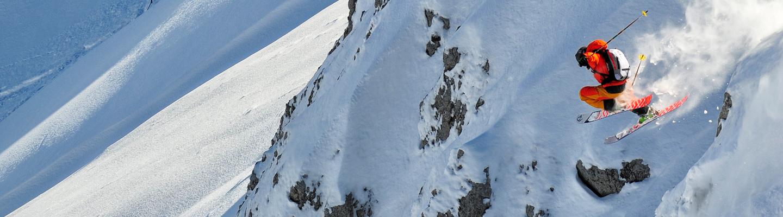 Giuliano Bordoni decolla sulle nevi dell'Abruzzo (foto: Maurizio Fasano)
